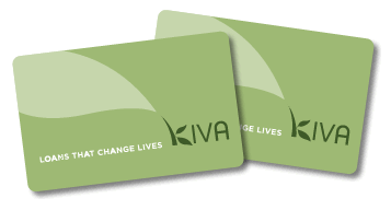 Kiva gift card - US$25 minimum