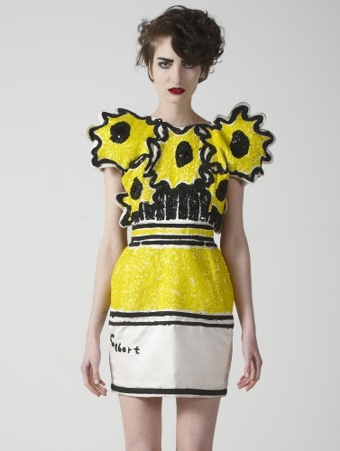 The RODNICK Band's Sunflower Dress - £1,295