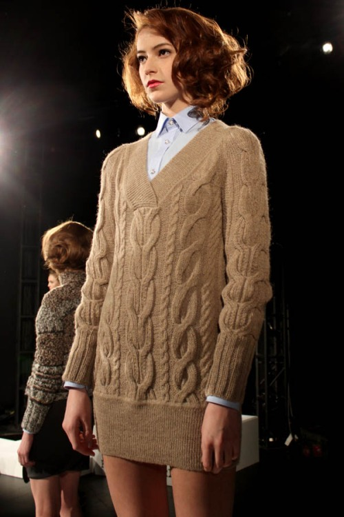 Ajna A/W 2012 (photo from Ecco Eco blog)