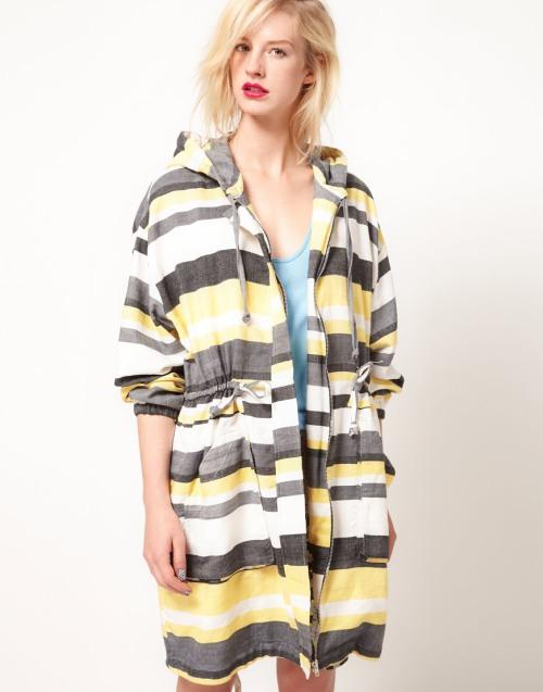 ASOS Africa : Stripe parka - £75